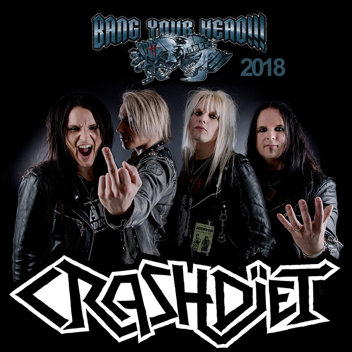 crashdiet bang your head 2018