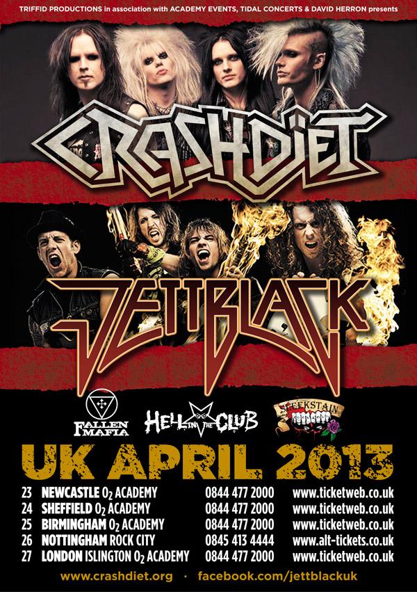 CRASHDÏET Official Website - UK tour announced!